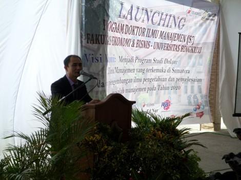 Peresmian Prodi Ilmu Ekonomi Universitas Bengkulu